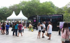 Truck Activation at Plaza Singapura LD