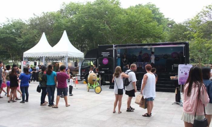 Truck Activation at Plaza Singapura LD