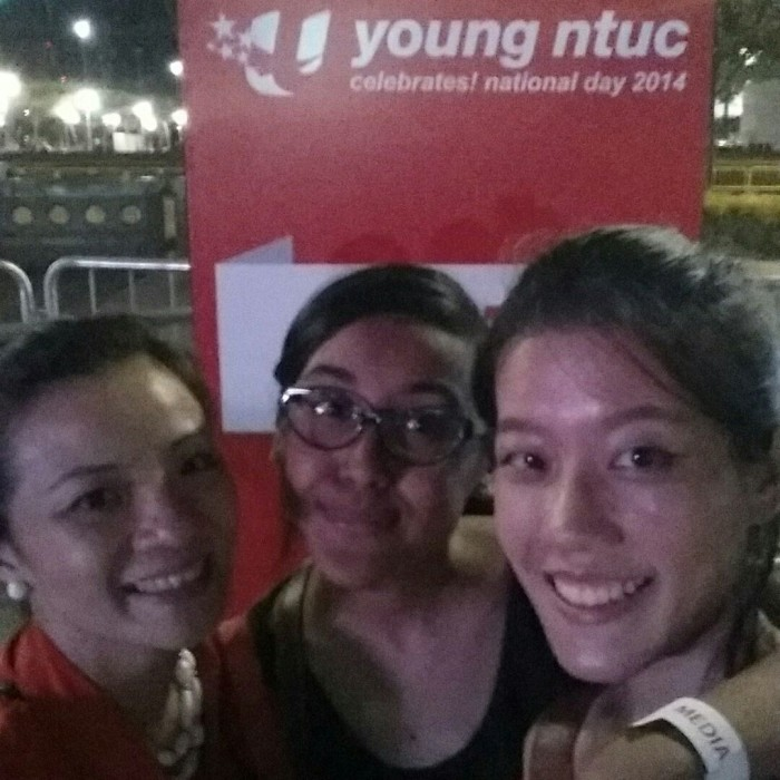 Young NTUC Celebrates National Day 2014