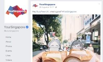 YourSingapore Facebook post