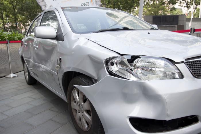 FWD Singapore Crashed Car 3