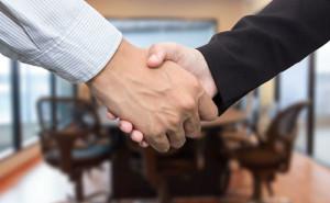 Handshake stock