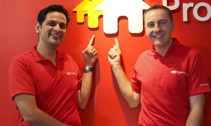 L_R (Hari Krishnan_Chief Executive Officer & Steve Melhuish_Co-Founder & Vice Chairman) PropertyGuru Group