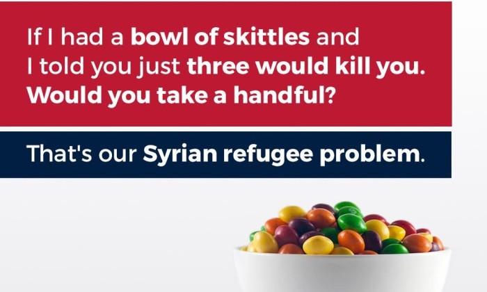 Skittles Trump