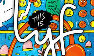 LYF - Mural by Singapore artist eeshaun