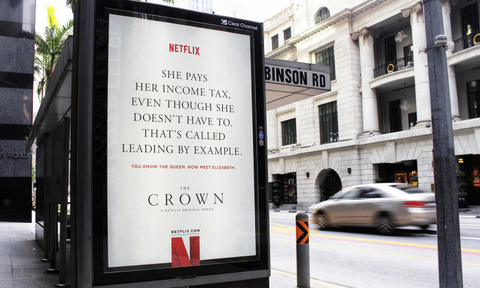 The Crown - income tax