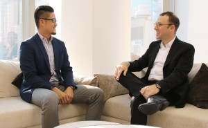 Jeffrey Tay, General Manager Quintessentially & Jonathan Zeman, CEO Lan Kwai Fong Group