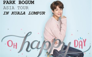 Park Bogum Asia Tour Kuala Lumpur