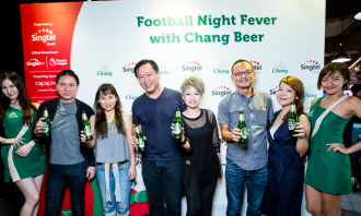 Chang beer football