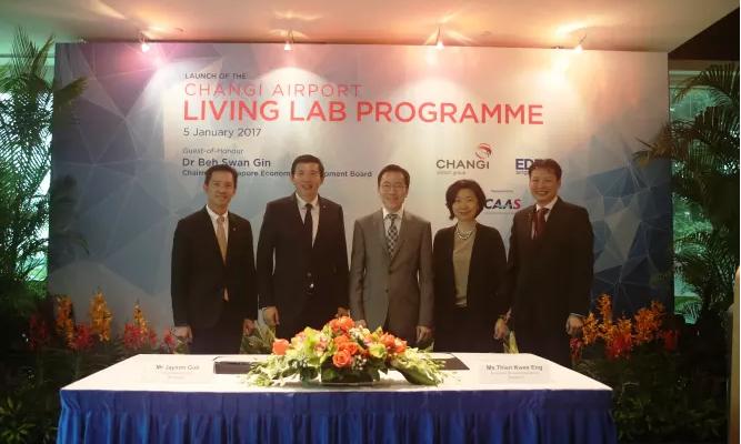 Changi Airport and EDB partnership