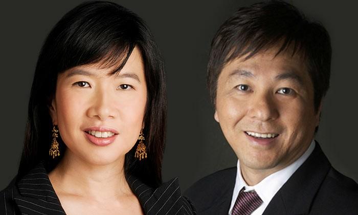 Debra Soon and Chang Long Jong