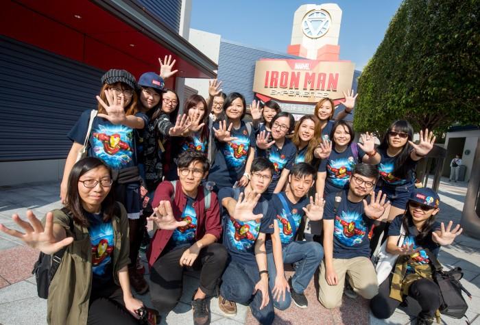 Hong Kong Disneyland_Iron Man Experience_Grand Opening_Fans