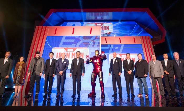 Iron Man Experience Grand Opening Ceremony(2)