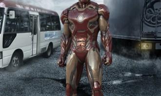 Iron Man Sighting