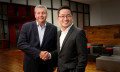 Kelvin Wong (Right), Assistant Managing Director, Singapore Economic Development Board, with Chris Riley, Group Chairman, Ogilvy & Mather Singapore