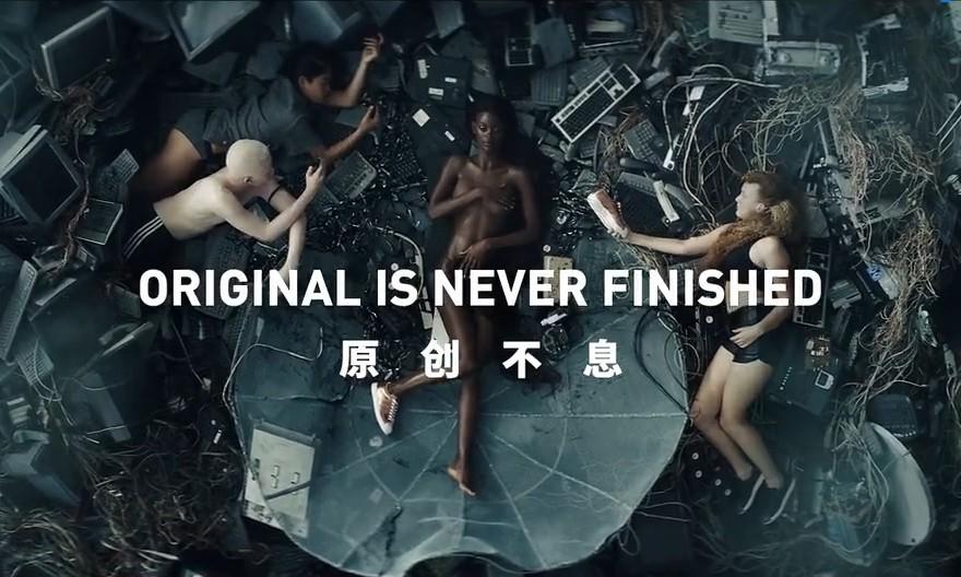 Controversial adidas Originals ad draws mixed response ...