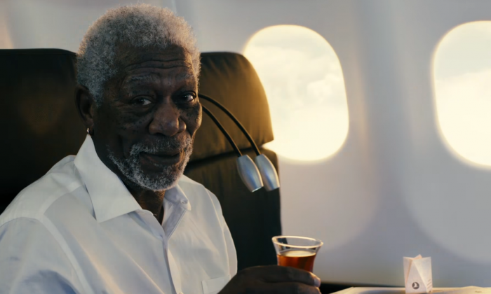 Turkish Airlines Morgan Freeman