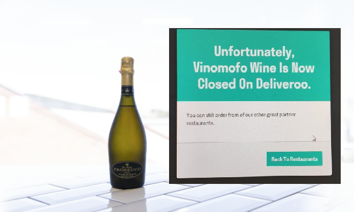 Deliveroo Wine Promo IWD