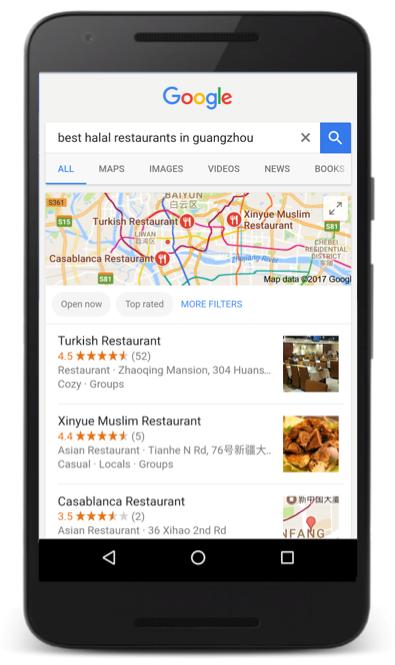 Google Malaysia Search Halal