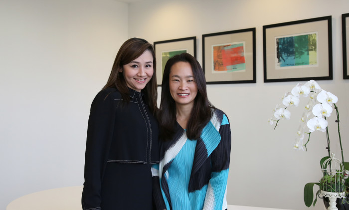 Grace Liu(left) and  Jane Lin-Baden(right)