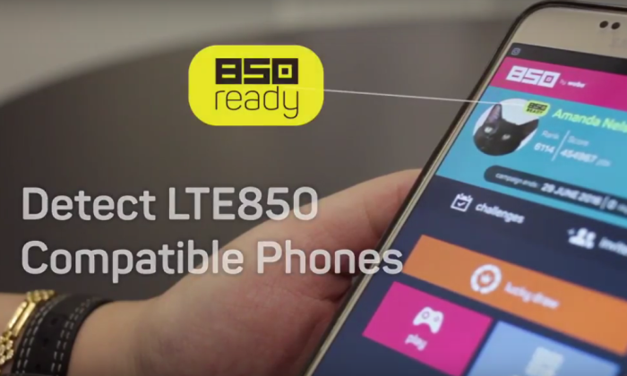 LTE850 Compatible Phones
