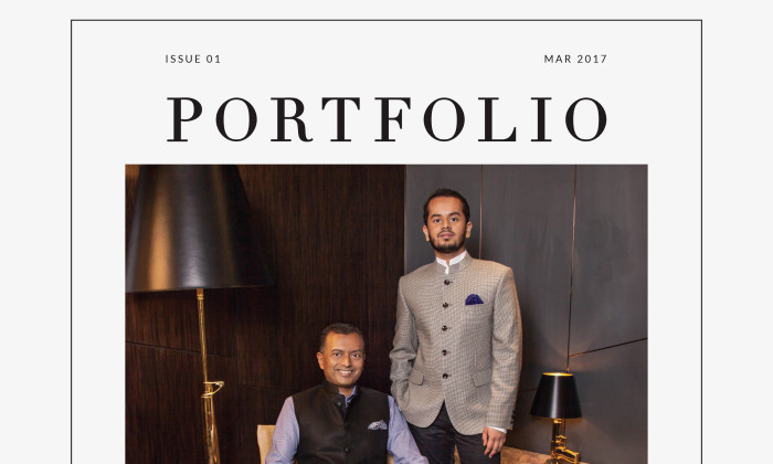 MARCH 2017 COVER- Surya & Gaurang Jhunjhnuwala, founders of Naumi Hospitality