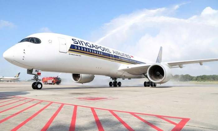 SIA flight