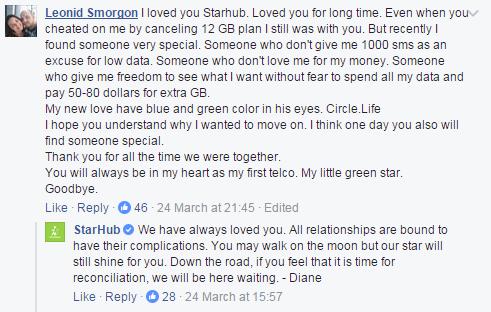 StarHub Breakup
