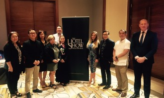 dmg events and PEPTarsus teams at The Hotel Show Philippines launch event in Manila