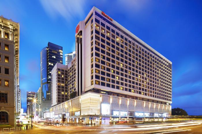 00 Sheraton Hong Kong - Hotel Exterior