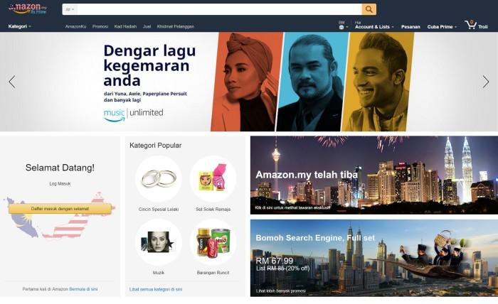Amazon Malaysia - Homepage