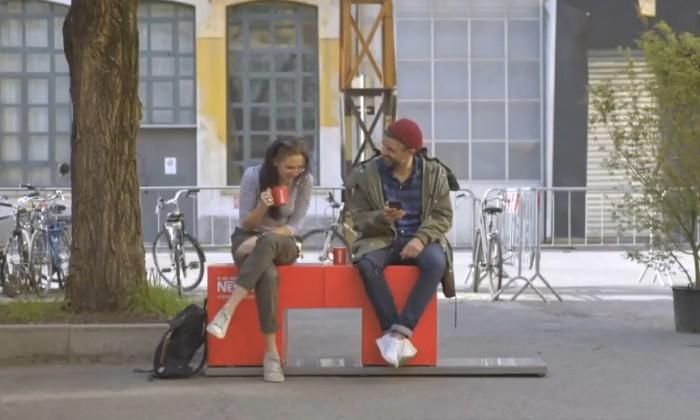 Nescafe Hello Bench