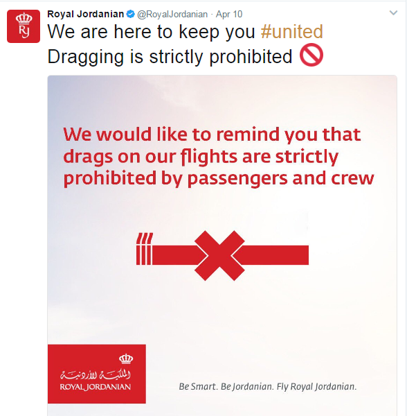 Royal Jordanian troll