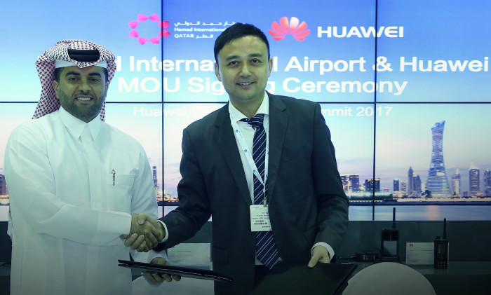 Huawei and Hamad International Airport