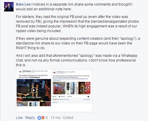 Kien Lee comment