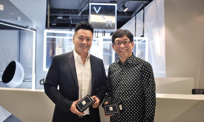 L-R Tony Chen, Chief Innovation Officer Dentsu Aegis Network China_ Motohiro Yamagishi, CEO Dentsu Aegis Network China
