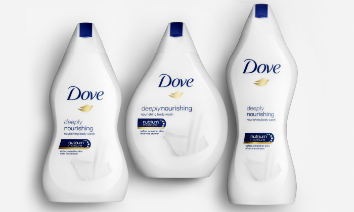 People aren't buying into Dove's body wash bottle campaign
