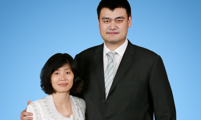 Yao Ming and Ye Li