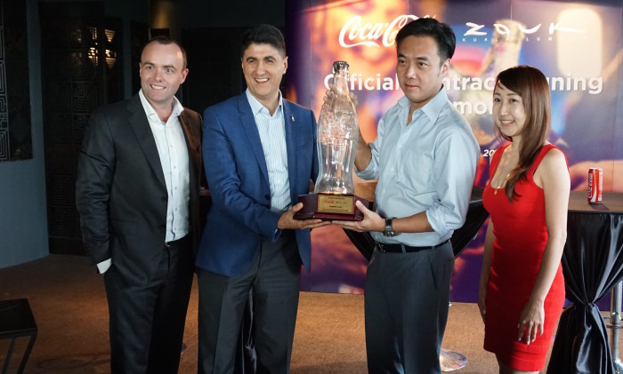 Coca-Cola and Zouk KL signs partnership_a