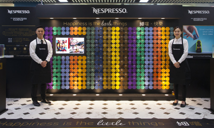 Marvelous Nespresso Mini Coffee Machine Campaign Celebrates Little Things In Life |  Marketing Interactive Photo