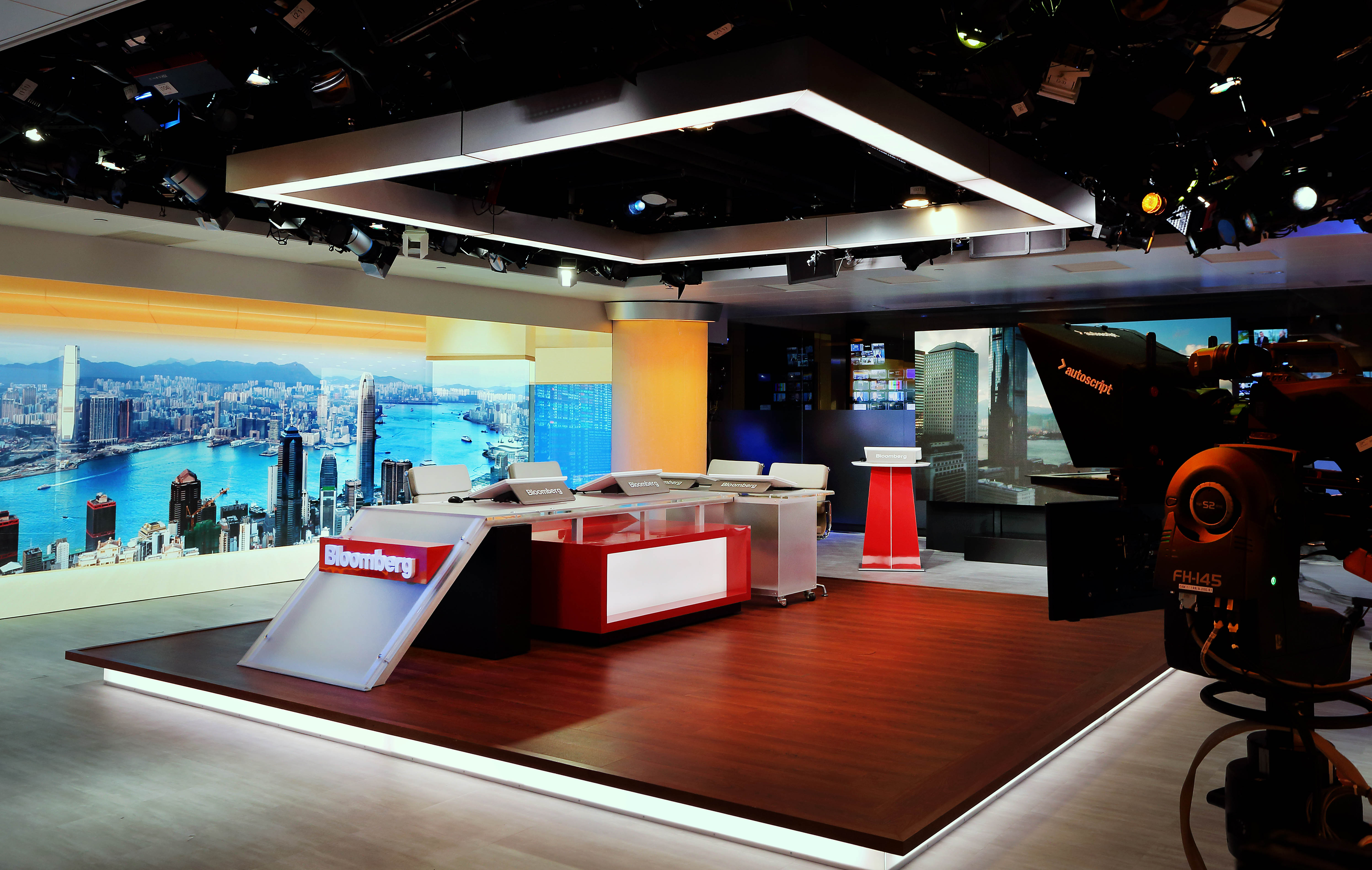 Bloomberg's new HK studio doubles down on TV, localisation