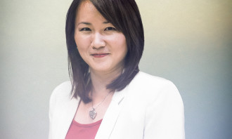 May Chung, business executive officer.