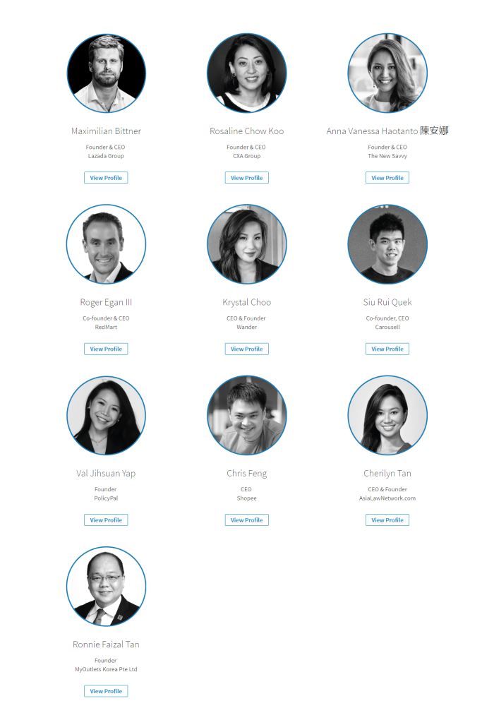 Founders   LinkedIn Power Profiles in Singapore 2017