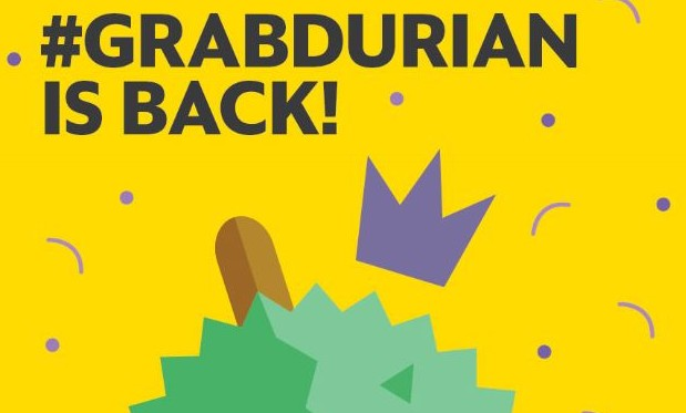 #GrabDurian is back!