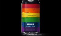 Absolut Rainbow edition 700ml black