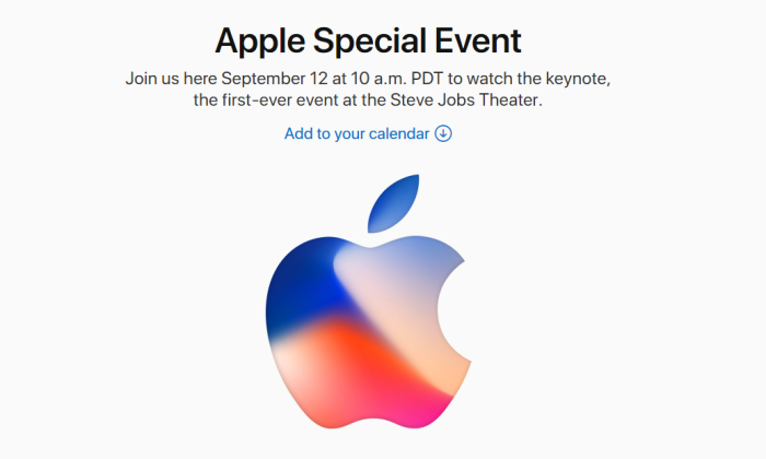 Apple Launch Event 2017