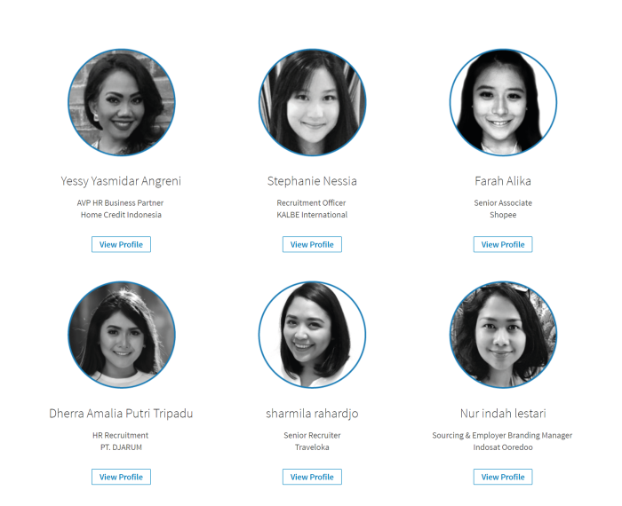 Indonesia LinkedIn Power Profile (HR)