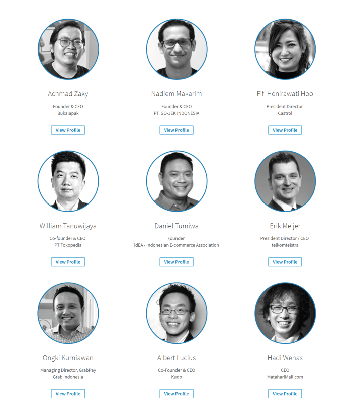 Indonesia LinkedIn Power Profile (Top Leaders)
