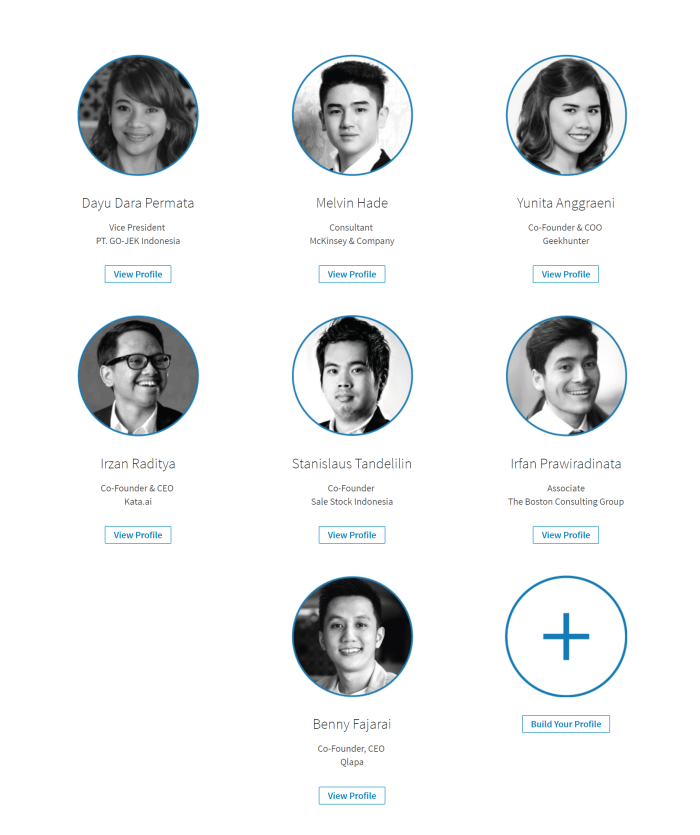 Indonesia LinkedIn Power Profile (Under 30)