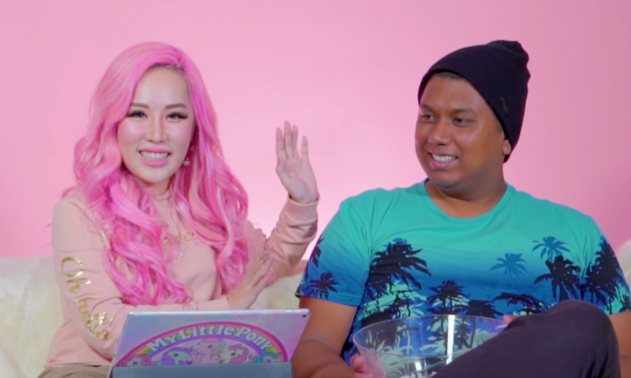 Xiaxue and Dee Kosh